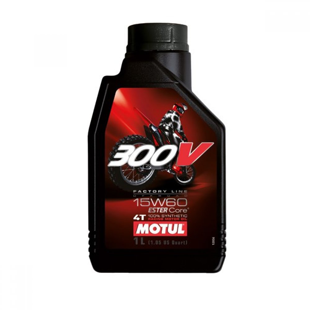 MOTUL 300V 4T FACTORY LINE 15W60 OFF ROAD 12X1L