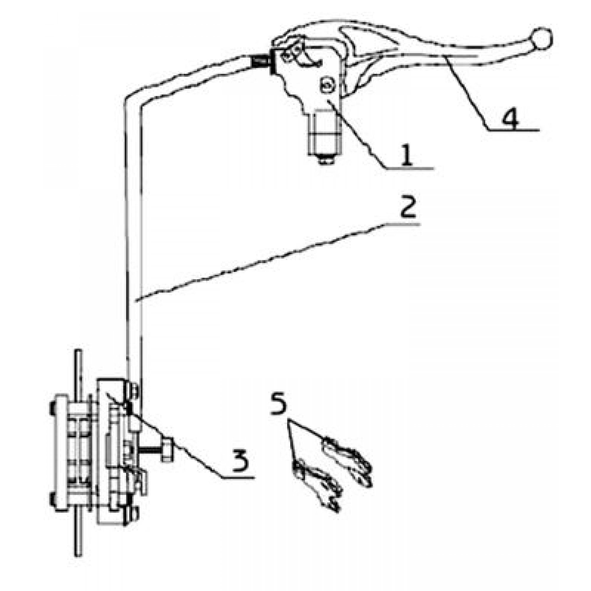 BRAKING SYSTEM OF THE PARKING BRAKE