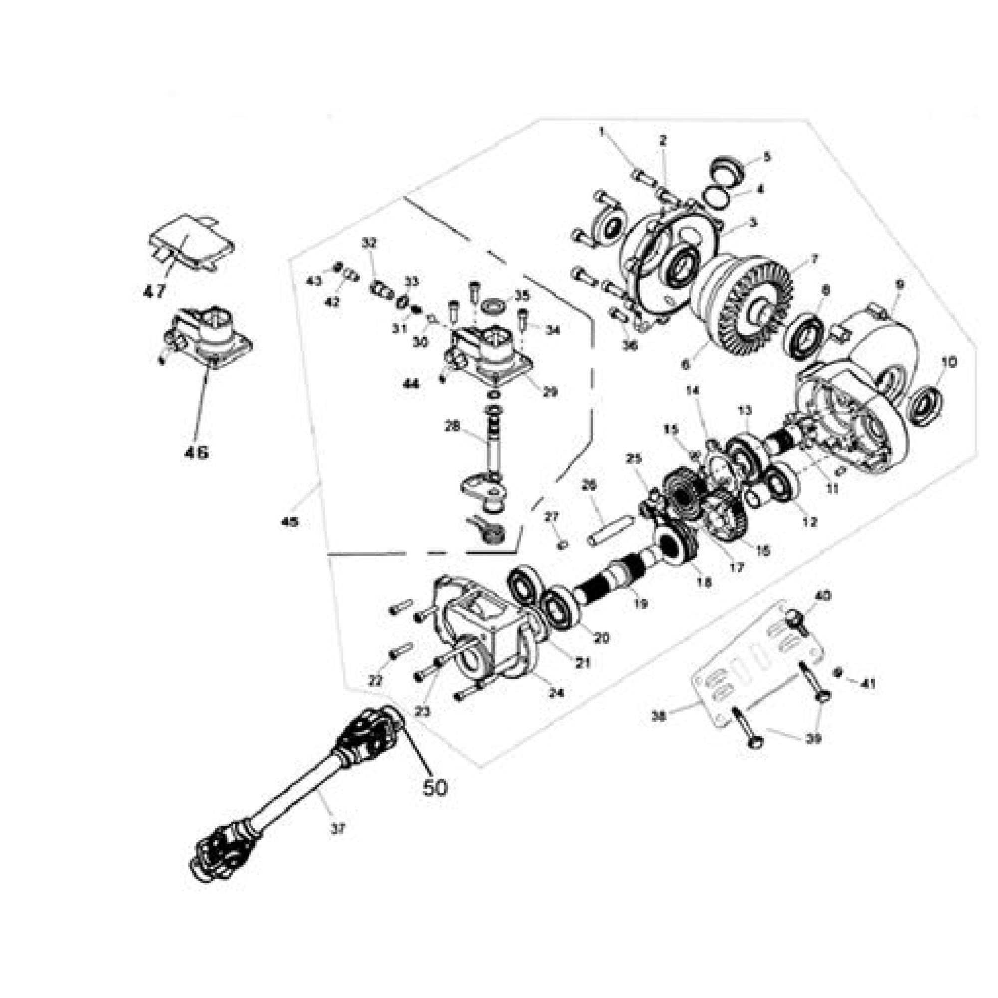 FRONT GEAR BOX