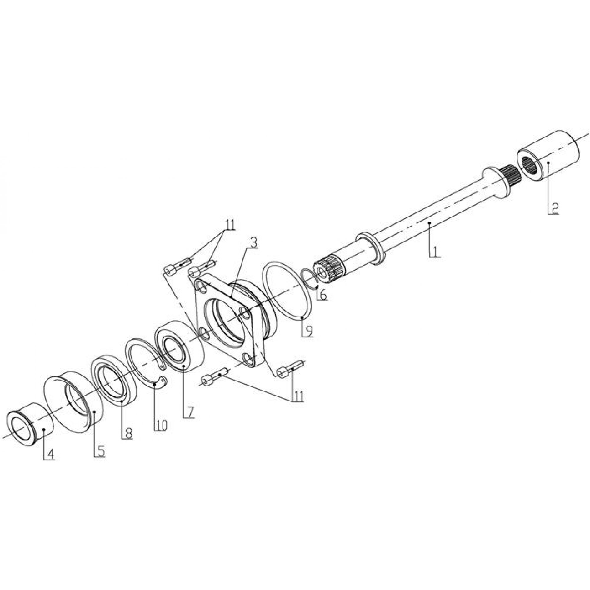 FRONT DRIVE ASSY